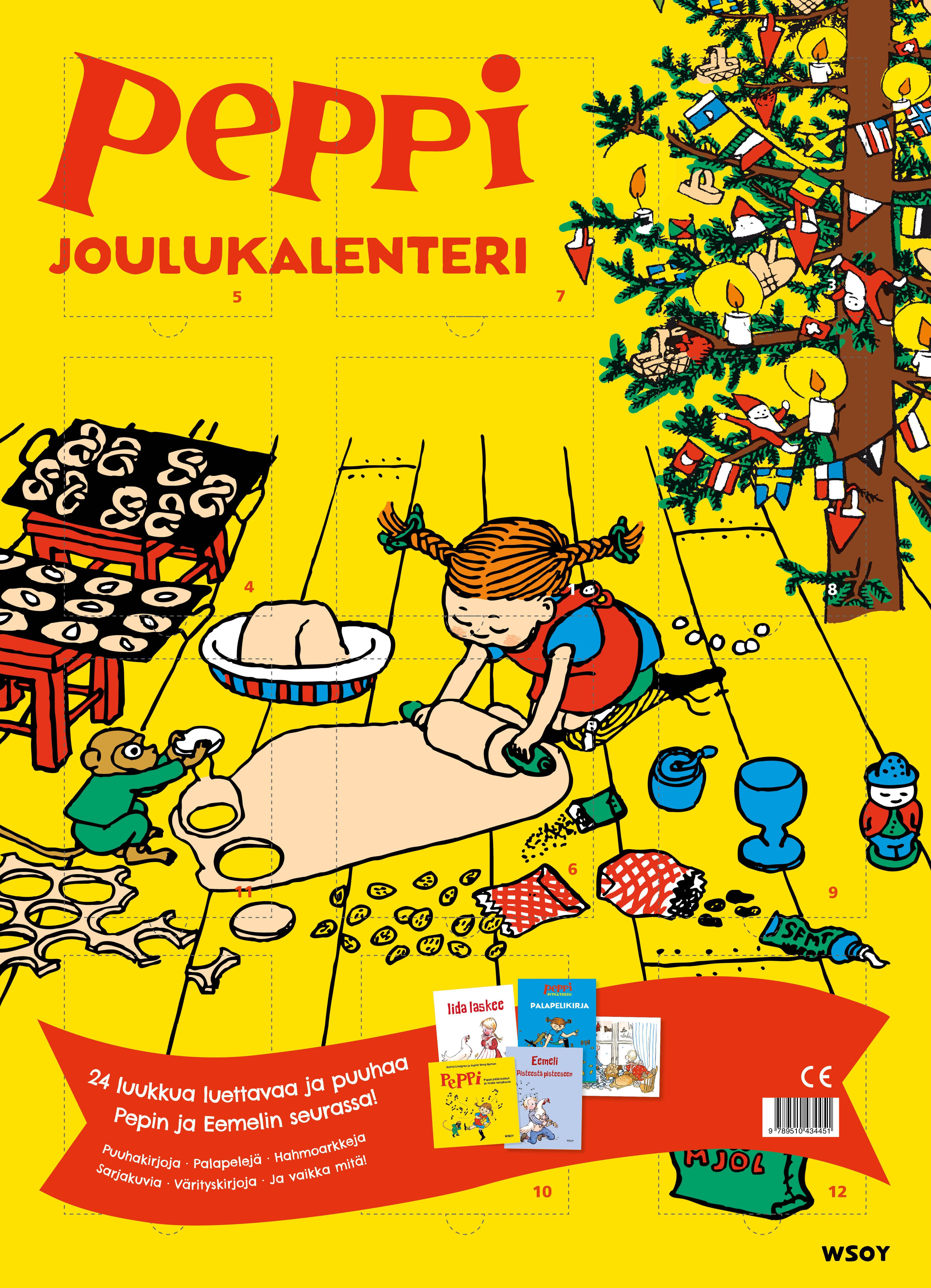 joulukalenteri 2018 kirja Peppi ja Eemeli  joulukalenteri joulukalenteri 2018 kirja
