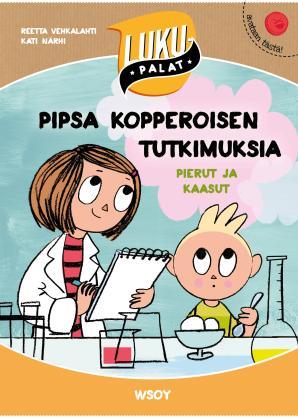 Pipsa Kopperoisen tutkimuksia: pierut ja kaasut - kirjan kansikuva