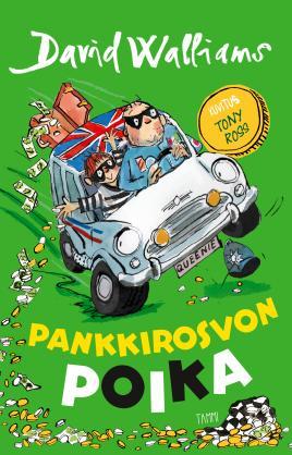 Pankkirosvon poika - kirjan kansikuva